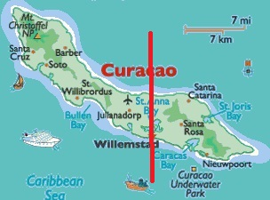 Curacao World Map Nights In Curacao In 4 Hotel Flights From
